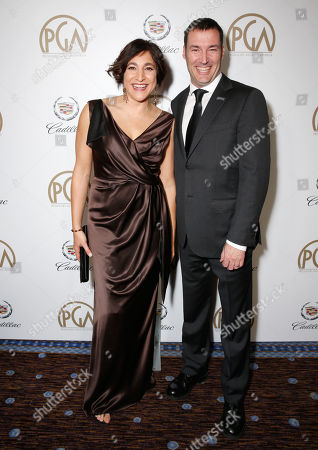 Editorial image of The 24th Annual Producers Guild (PGA) Awards Cocktail Reception, Beverly Hills, USA - 26 Jan 2013