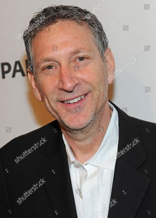 Photo of Russ Krasnoff courtesy of Samsung Galaxy, taken during the Paley Center for Media's PaleyFest, honoring Community, at the Saban Theatre, in Los Angeles, California