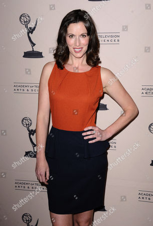 Heather Roop arrives at the 40th Annual Daytime Emmy Awards nominee reception at the Montage Beverly Hills on in Beverly Hills, Calif