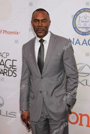 Richard Brooks arrives at the 46th NAACP Image Awards at the Pasadena Civic Auditorium, in Pasadena, Calif