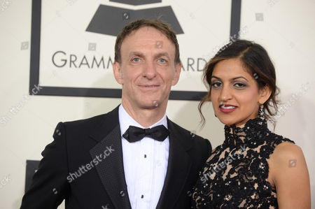 Editorial photo of The 56th Annual GRAMMY Awards - Arrivals, Los Angeles, USA - 26 Jan 2014