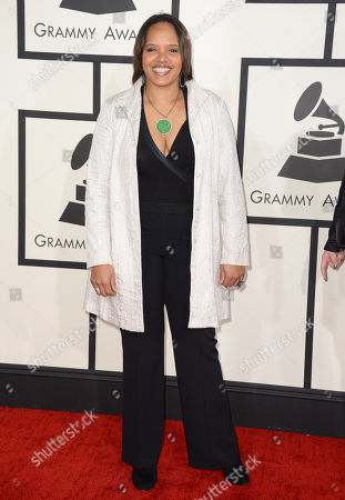 Stock Picture of Terri Lyne Carrington arrives at the 56th annual GRAMMY Awards at Staples Center, in Los Angeles