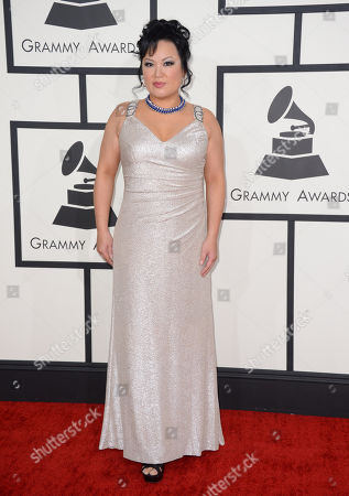 Editorial image of The 56th Annual GRAMMY Awards - Arrivals, Los Angeles, USA - 26 Jan 2014