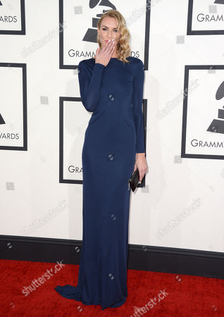 Holly Ridings arrives at the 56th annual GRAMMY Awards at Staples Center, in Los Angeles
