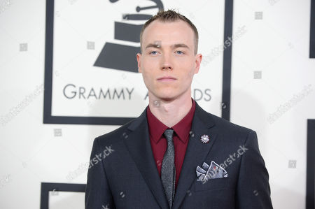 DJ Skee arrives at the 56th annual GRAMMY Awards at Staples Center, in Los Angeles