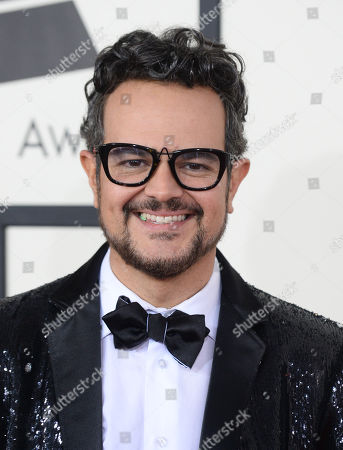 Aleks Syntek arrives at the 56th annual GRAMMY Awards at Staples Center, in Los Angeles