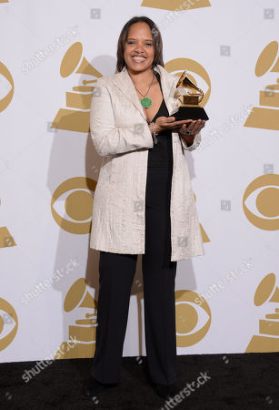 Editorial photo of The 56th Annual GRAMMY Awards - Press Room, Los Angeles, USA - 26 Jan 2014