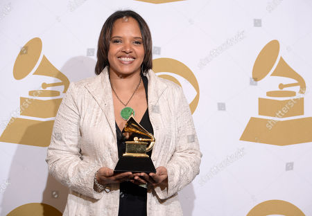 Editorial picture of The 56th Annual GRAMMY Awards - Press Room, Los Angeles, USA - 26 Jan 2014