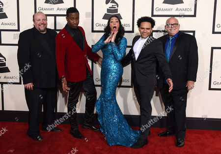Editorial picture of The 57th Annual Grammy Awards - Arrivals, Los Angeles, USA - 8 Feb 2015