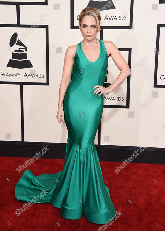 Editorial photo of The 57th Annual Grammy Awards - Arrivals, Los Angeles, USA - 8 Feb 2015