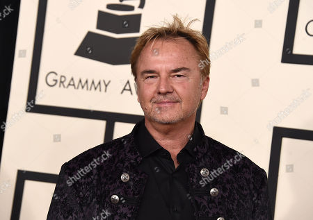 Peter Kater arrives at the 57th annual Grammy Awards at the Staples Center, in Los Angeles