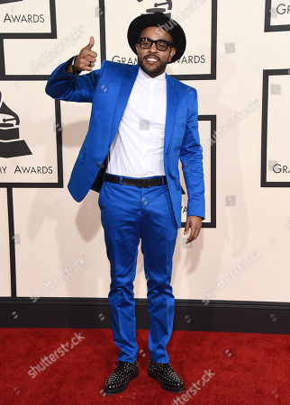 Stock Photo of Verse Simmonds arrives at the 57th annual Grammy Awards at the Staples Center, in Los Angeles