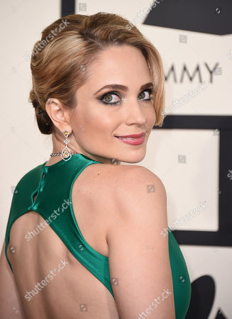 Stock Picture of Cara Quici arrives at the 57th annual Grammy Awards at the Staples Center, in Los Angeles