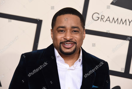 Smokie Norful arrives at the 57th annual Grammy Awards at the Staples Center, in Los Angeles