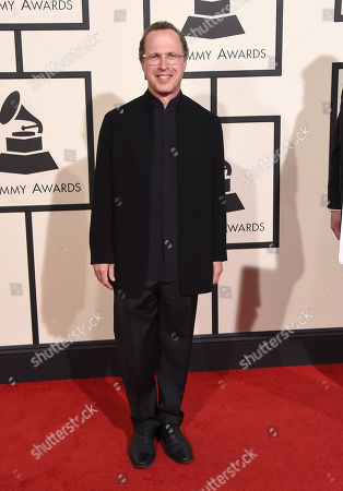 Stock Picture of David Alan Miller arrives at the 58th annual Grammy Awards at the Staples Center, in Los Angeles