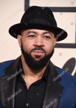 Stock Photo of Jim Beanz arrives at the 58th annual Grammy Awards at the Staples Center, in Los Angeles