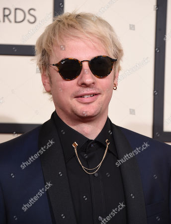 Stock Picture of Kid Harpoon arrives at the 58th annual Grammy Awards at the Staples Center, in Los Angeles