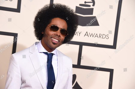 Alex Cuba arrives at the 58th annual Grammy Awards at the Staples Center, in Los Angeles