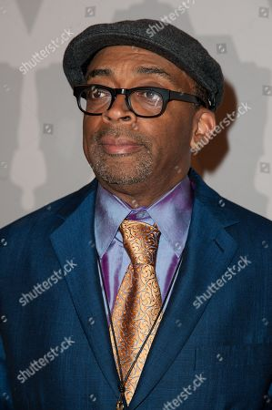 "Stock Photo of Spike Lee arrives at The Academy Celebrates the 25th Anniversary of ""Do The Right Thing"" held at the Bing Theater, in Los Angeles"