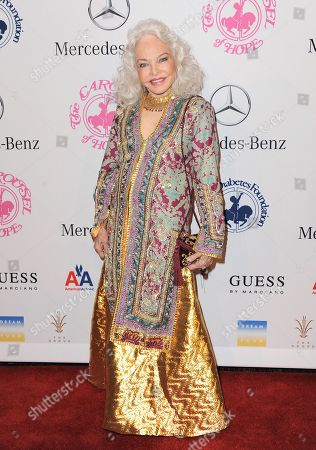 Lois Aldrin arrives at The Carousel of Hope at The Beverly Hilton Hotel, in Beverly Hills