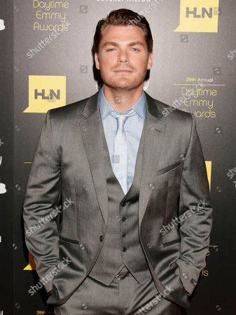 Jeff Branson arrives at the 39th Annual Daytime Emmy Awards on HLN at the Beverly Hilton Hotel on in Beverly Hills, Calif