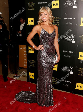 Stock Picture of Tiffany Coyne arrives at the 39th Annual Daytime Emmy Awards on HLN at the Beverly Hilton Hotel on in Beverly Hills, Calif