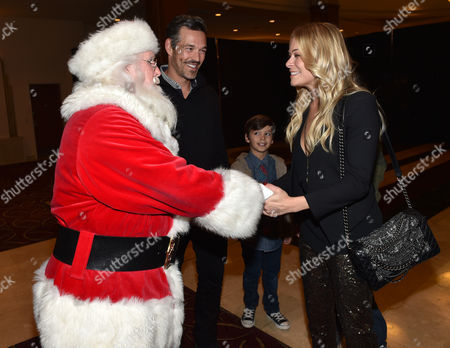 Editorial photo of The Grove's 12th Annual Christmas Tree Lighting Spectacular Presented By Citi, Los Angeles, USA - 16 Nov 2014