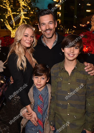 Editorial image of The Grove's 12th Annual Christmas Tree Lighting Spectacular Presented By Citi, Los Angeles, USA - 16 Nov 2014