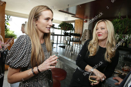 Jeanann Williams and Tara Swennen at The Hollywood Reporter and Jimmy Choo Celebration of the Most Powerful Stylists in Hollywood, on Wednesday, March, 13, 2013 in Los Angeles