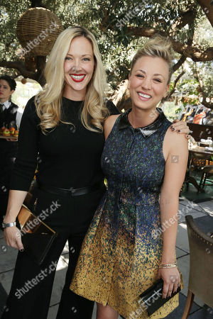 Tara Swennen and Kaley Cuoco at The Hollywood Reporter and Jimmy Choo Celebration of the Most Powerful Stylists in Hollywood, on Wednesday, March, 13, 2013 in Los Angeles