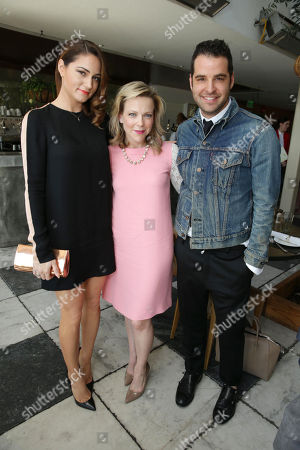 Mariel Haenn, Carol McColgin and Rob Zangardi at The Hollywood Reporter and Jimmy Choo Celebration of the Most Powerful Stylists in Hollywood, on Wednesday, March, 13, 2013 in Los Angeles