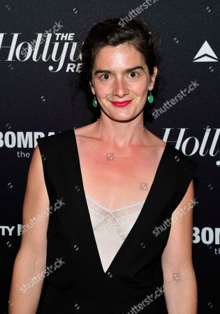 Stock Photo of Gabby Hoffman seen on the red carpet for The Hollywood Reporter Celebrates the 35 Most Powerful People in Media, on April 10th, 2013, in New York