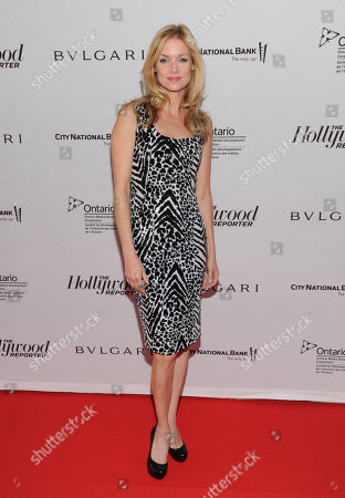 Cynthia Preston arrives at The Hollywood Reporter's Cocktail Reception presented by Bulgari on in Toronto