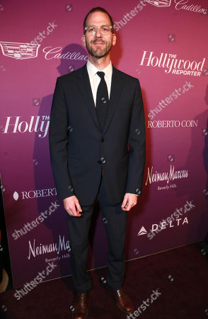 Charlie Siskel arrives at The Hollywood Reporter Nominees Night presented by Cadillac, with Delta, Roberto Coin, and Neiman Marcus Beverly Hills at Spago on Mon., in Beverly Hills, Calif