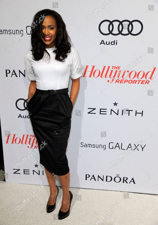 Stock Picture of Shvona Lavette arrives at The Hollywood Reporter Nominees' Night at Spago, in Beverly Hills, Calif