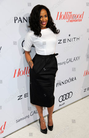Stock Photo of Shvona Lavette arrives at The Hollywood Reporter Nominees' Night at Spago, in Beverly Hills, Calif