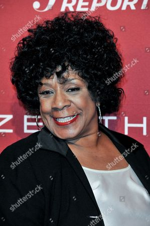 Stock Image of Merry Clayton arrives at The Hollywood Reporter Toasts the 2014 Oscar Nominees on Monday Feb, 10, 2014 in Beverly Hills, Calif