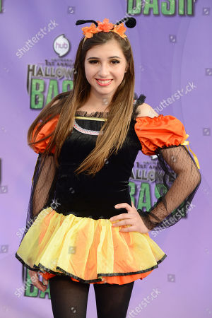 """Stock Image of Victoria Strauss arrives at """"Hub Network's First Annual Halloween Bash"""", at the Barker Hanger in Santa Monica, Calif. The star-studded special will be broadcasted on the Hub Network on Saturday Oct. 26, 2013"""