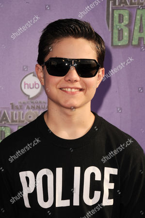 "Zach Callison arrives at ""Hub Network's First Annual Halloween Bash"", at the Barker Hanger in Santa Monica, Calif. The star-studded special will be broadcasted on the Hub Network on Saturday Oct. 26, 2013"