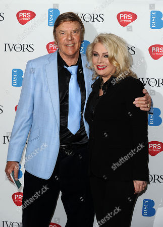 Marty Wilde and daughter Kim Wilde arrive for the 58th Ivor Novello awards at the Grosvenor House in London on