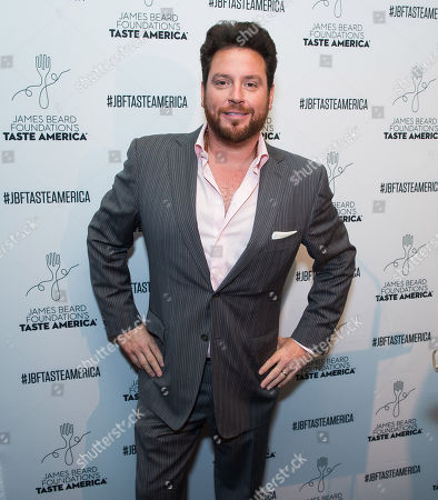 Taste America All-Star Scott Conant attends the kick-off event for the James Beard Foundation's Taste America 10-city national tour, held at the James Beard House in New York City