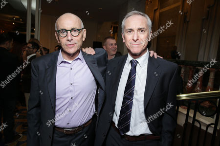 Kevin McCormick and A. Scott Berg at The L.A. Gay & Lesbian Center for 'An Evening Honoring Amy Pascal and Ralph Rucci', on Thursday, March, 21, 2013 in Beverly Hills