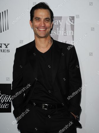 """Jonathon Schaech arrives at the L.A. Gay and Lesbian Center's """"An Evening"""" at the Beverly Wilshire on in Los Angeles"""