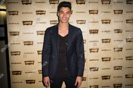 Siva Kaneswaran Green attends The Levi's Pre-Grammy Party With Snoop Dogg at The Hollywood Palladium, in Los Angeles