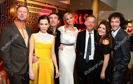 Matt Greenhalgh, Anna Friel, Steve Coogan, Tamsin Egerton, Michael Winterbottom and Chris Addison at the UK premiere of The Look of Love at the Curzon Soho in London on