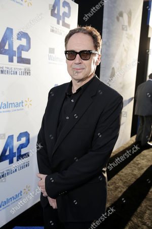 """Composer Mark Isham at The Los Angeles Premiere of Warner Bros. Pictures' and Legendary Pictures' """"42"""", on Tuesday, April, 9th, 2013 in Los Angeles"""