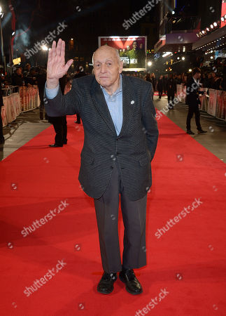 """Harry Ettlinger attending the UK Premiere of """"The Monuments Men"""" - Inside Arrivals at the Odeon,Leicester Square in London on Tuesday 11 February, 2014"""