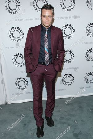 """Actor Seamus Dever arrives at the The Paley Center For Media presents The Wait Is Over: """"Castle"""" is Back on in Beverly Hills, Calif"""