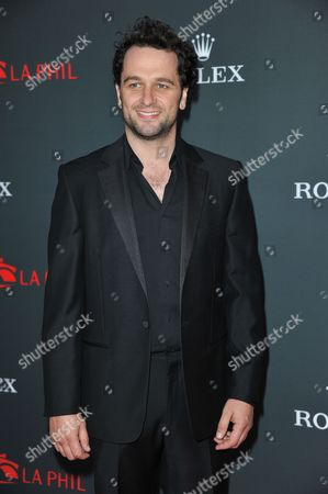 Stock Image of Matthew Reese arrives at the Los Angeles Philharmonic's 2012 Opening Night Gala, in Los Angeles