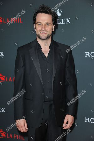 Stock Picture of Matthew Reese arrives at the Los Angeles Philharmonic's 2012 Opening Night Gala, in Los Angeles
